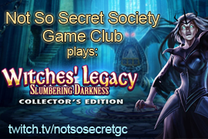 Not So Secret Society Game Club Meeting Tonight!