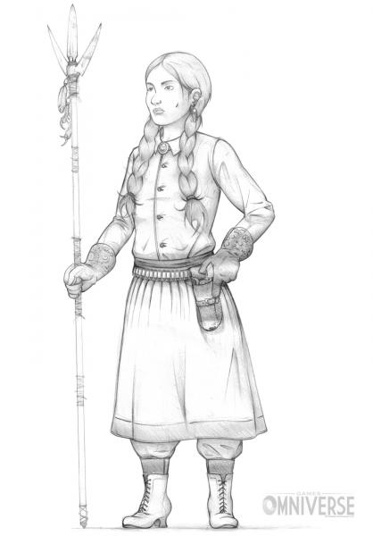 Jessica Dire sketch.