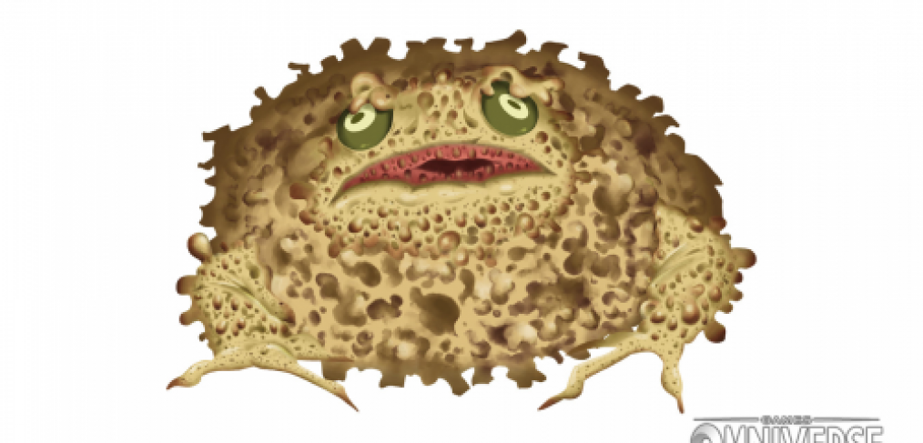 Sponge Toad Painted Final